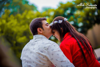 Pre-wedding photography by Alok Samanta