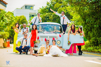 Fun Creative Wedding photography by Ramit Batra Photography