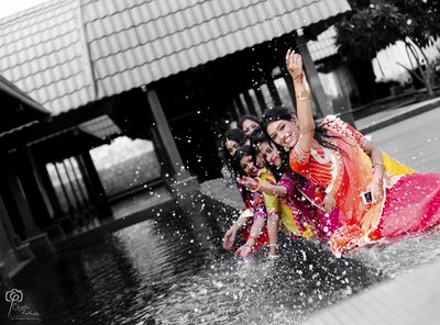 Fun Creative Wedding photography by Chintu Pathak Photography