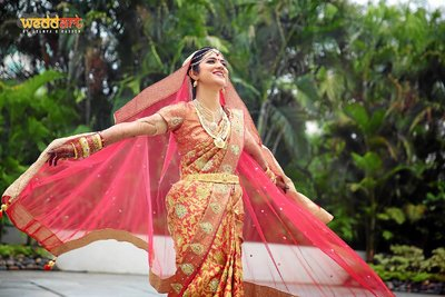 Bridal Portraits photography by Soumya Radesh Weddart