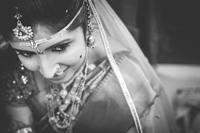 Bridal Portraits photography by The Candid Pictures