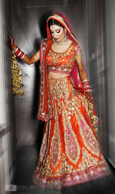 Bridal Portraits photography by Neeraj Agnihotri