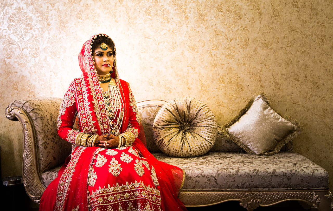 Bridal Portraits photography by Taj Modeling Studio