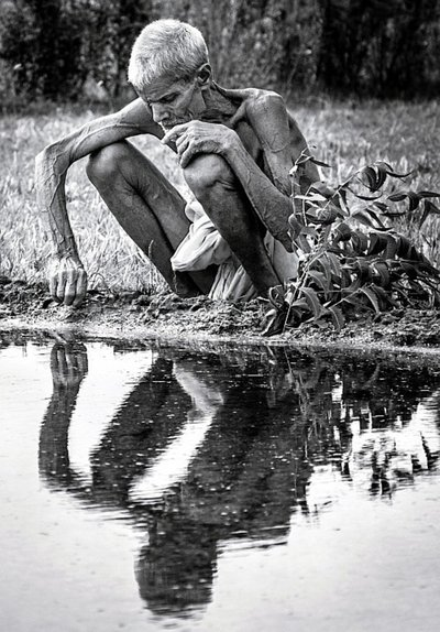 Black and white photography by Madhu India