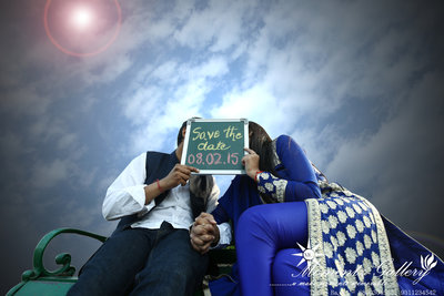 Pre-wedding photography by momentz gallery