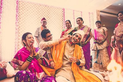 Fun Creative Wedding photography by The Photo Diary