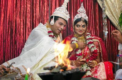 Bengali wedding photography by Sanjoy Mahajan Photography