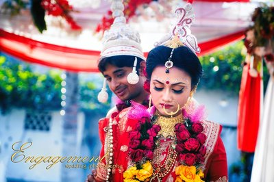 Bengali wedding photography by Two Hearts