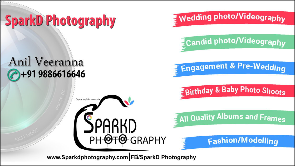 SPARK'D PHOTOGRAPHY AND VIDEOGRAPHY