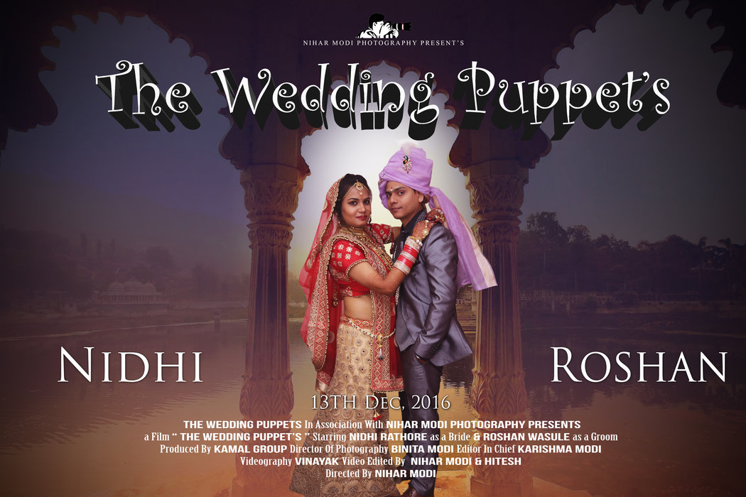 The wedding Puppets - Nihar Modi Photography Brand