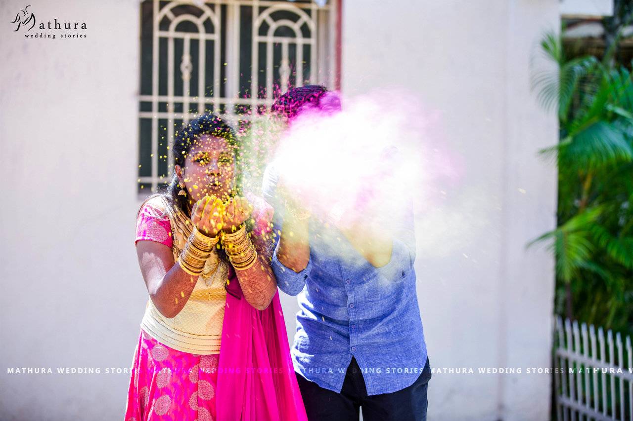 Mathura Wedding Stories - Wedding Photographer in Madurai