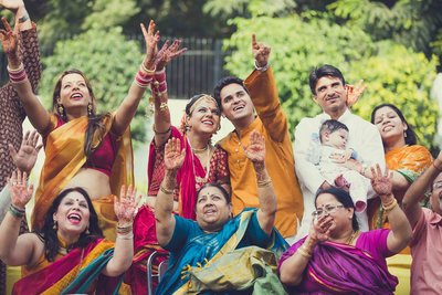 Fun Creative Wedding photography by Kritika Kishore Photography