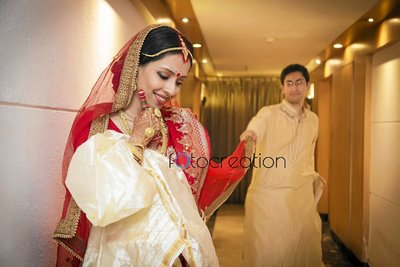 Bengali wedding photography by Fotocreation