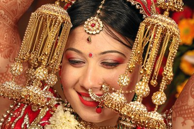 Bridal Portraits photography by Arora Studio