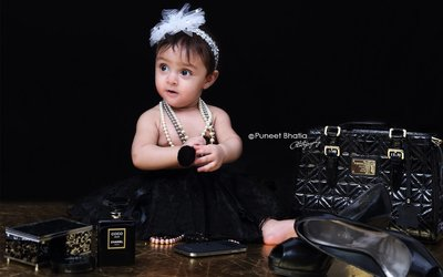 Baby Portraits photography by Puneet Bhatia Photography