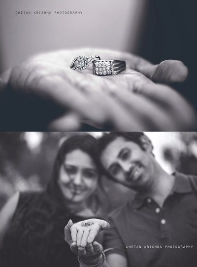 Engagement photography by Chetan Krishna Photography