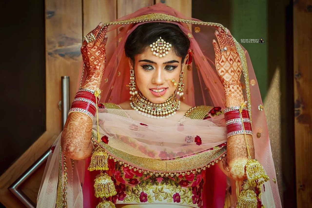 Bridal Portraits photography by SUNNY DHIMAN Photography