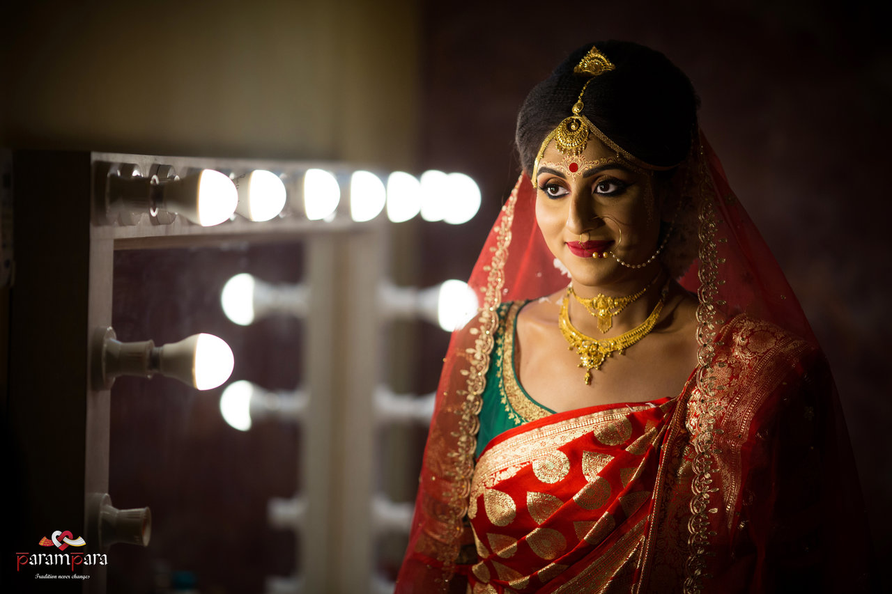 Bridal Portraits photography by Parampara