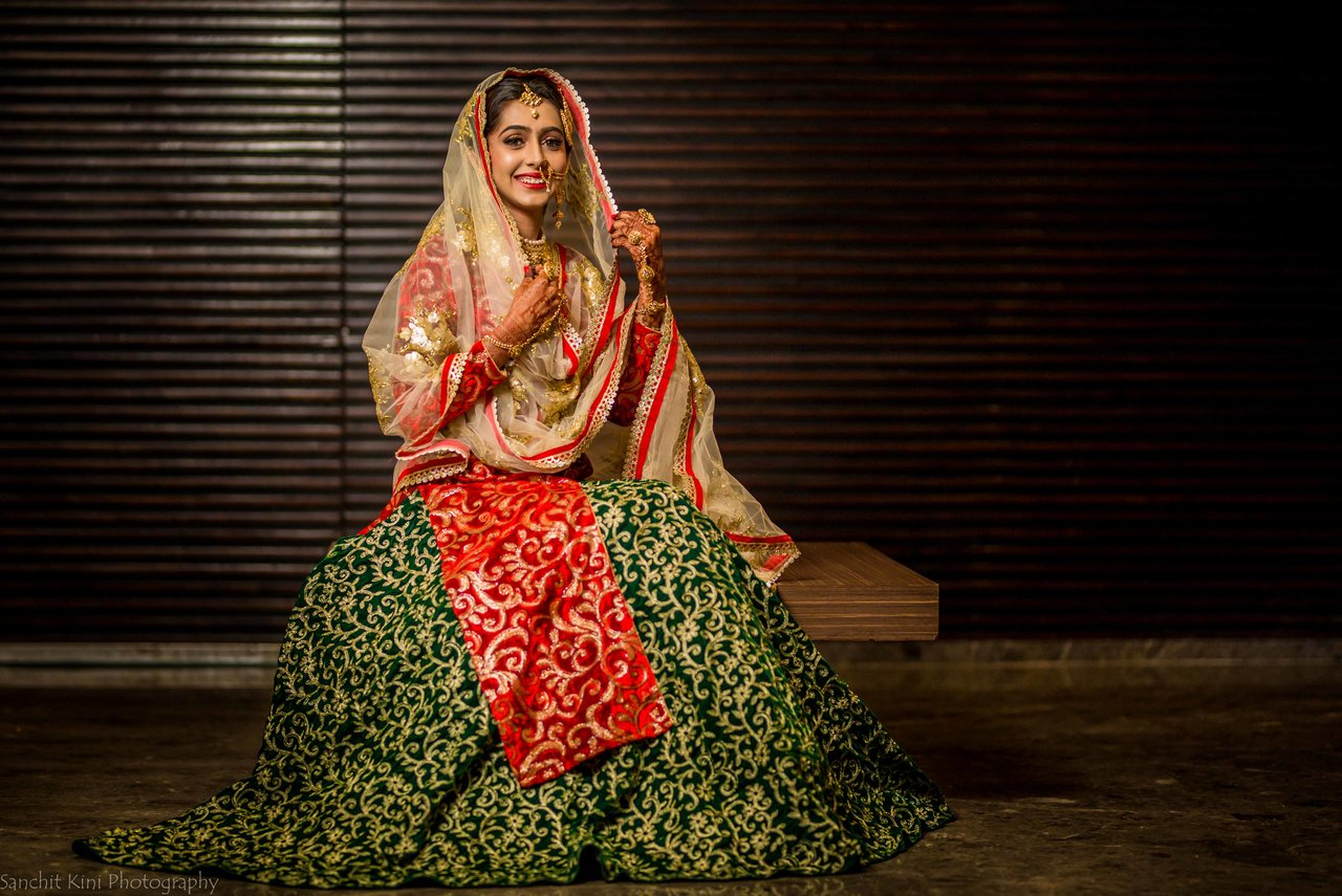 Bridal Portraits photography by Sanchit Kini Photography