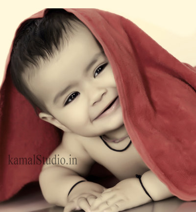 Baby Portraits photography by Kamal Studio