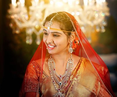 Bridal Portraits photography by Sarath Shetty Photography