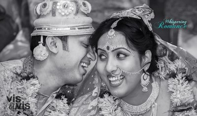 Bengali wedding photography by Vis A Vis Photography