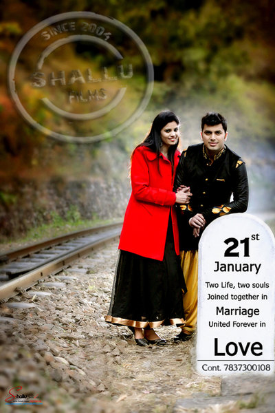 Pre-wedding photography by Shallu Digital Studio