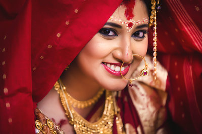 Bridal Portraits photography by FOTOSUTRA