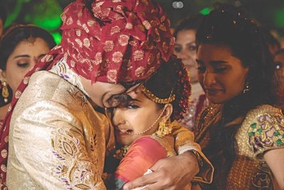 Wedding photography by Puja Kedia Collective