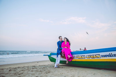 Pre-wedding photography by