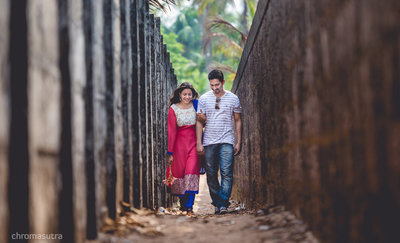 Pre-wedding photography by Chromasutra Photography