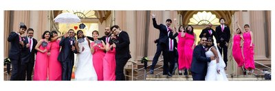 Fun Creative Wedding photography by Hope Studios