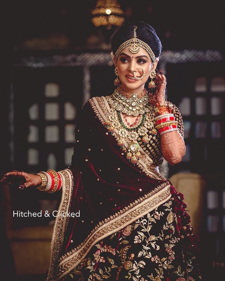 Bridal Portraits photography by Hitched & Clicked