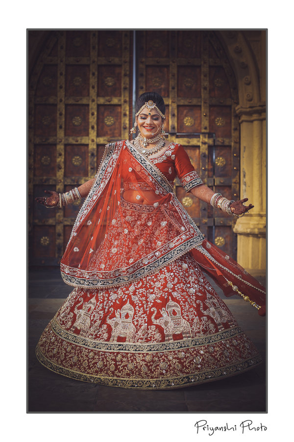 Bridal Portraits photography by Priyanshi Photo