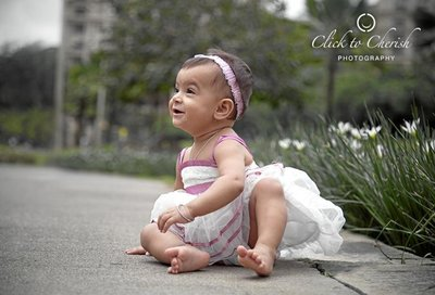 Baby Portraits photography by Click to Cherish