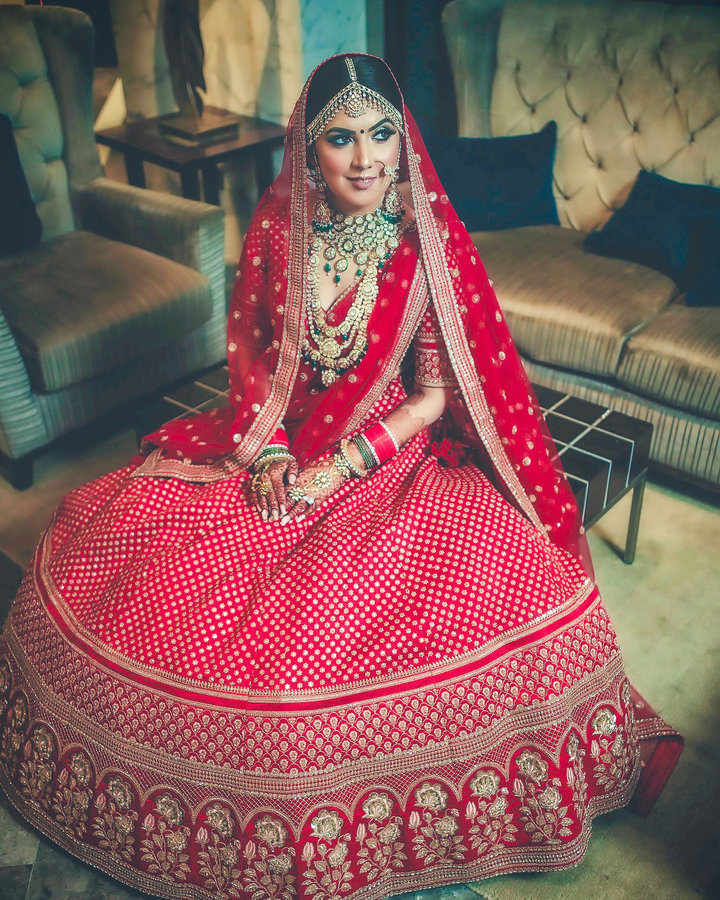 Bridal Portraits photography by Dipak Studios