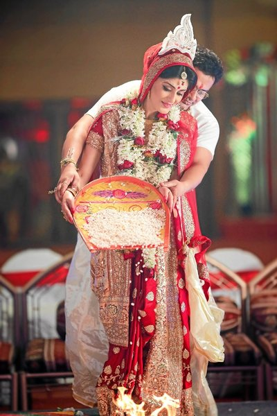 Bengali wedding photography by Moments of Initiation