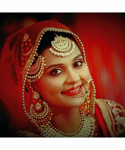 Bridal Portraits photography by Studio Bajaj