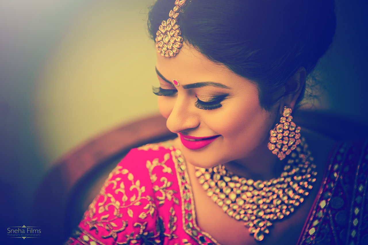 Bridal Portraits photography by Sneha Films