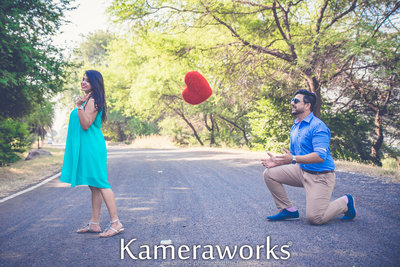 Pre-wedding photography by Kameraworks