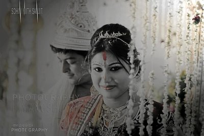 Bengali wedding photography by Studio Himangshu