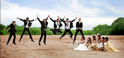 Fun Creative Wedding photography by Studio 90