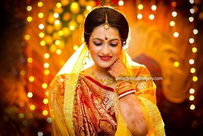 Bridal Portraits photography by SREJON IMAGERY