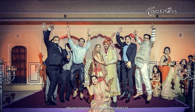 Fun Creative Wedding photography by R ACTION STUDIO