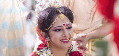 Bengali wedding photography by Dipta Subhra Photography