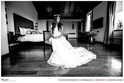 Wedding photography by Rahul de Cunha Pictures